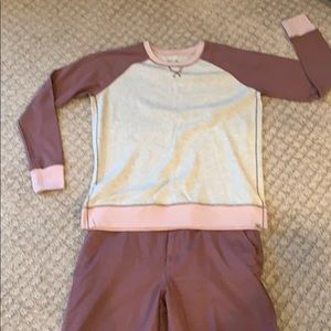 Ladies Chinos & sweatshirt sweater set